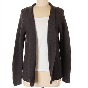 Eileen Fisher wool brown cardigan